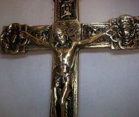 Crucifixo em Bronze