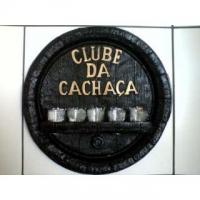 Placa Decorativa Clube da Cachaça