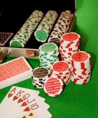 Jogos de Poker 300 fichas Maleta