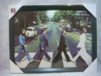 Quadro 3D Beatles