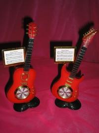 Miniaturas de Violão e Guitarra