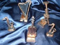 Miniaturas Instrumentos Musicas